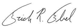 Erich R. Ebel