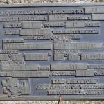 Gravesite plaque 2