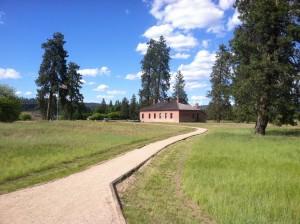 Fort Spokane quartermaster/visitor center