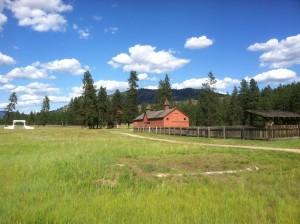 Fort Spokane stables