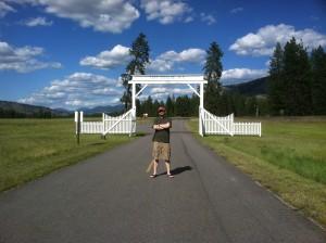 Fort Spokane Gate