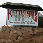 Kettle Falls sign