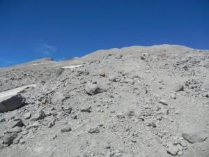 Saint Helens summit in view