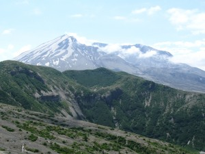 View of Mt. Saint Helens