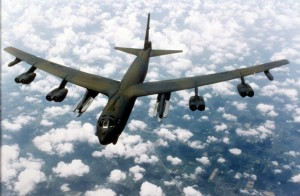 B-52_flying_over_clouds