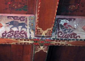 Lake-Quinault-Lodge-ceiling-beams