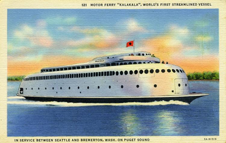 Kalakala postcard
