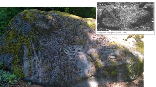 Petroglyph composite photo